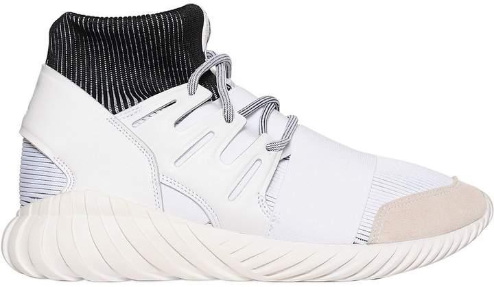 adidas Tubular Primeknit & Nylon Sneakers