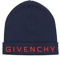Givenchy Women's Wool Logo Beanie