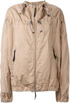Marni drawstring bomber jacket - women - Cotton/Linen/Flax - 42