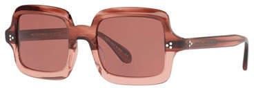 Oliver Peoples Avri Square Acetate Sunglasses