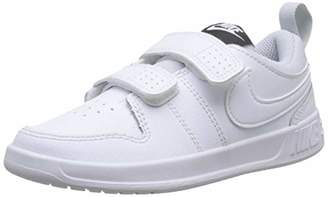 Nike Unisex Kids Pico 5 (PSV) Tennis Shoes, White (White/White/Pure Platinum 100), 2.5 2/3 UK