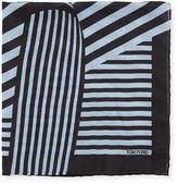 Tom Ford Wide-Stripe Pocket Square