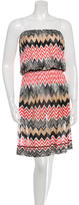 Missoni Patterned Strapless Dress