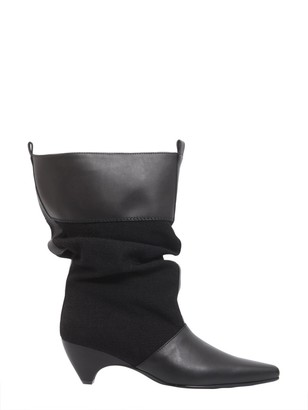 Stella McCartney Faux Leather Slouch Boots