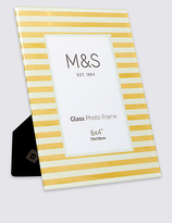 M&S Collection Striped Photo Frame 15 x 10cm (6 x 4inch)