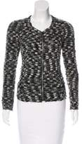 Isabel Marant Leather-Trimmed Bouclé Jacket