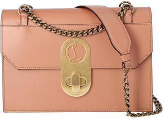 Christian Louboutin Elisa Large Leather Shoulder Bag