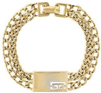 Givenchy Pre-Owned 1980's chain link bracelet
