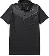 Nike Short-Sleeve Mobility Print Polo Shirt