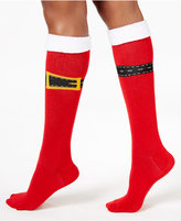 Charter Club Women's Buckle Up Knee High Socks, Created for Macy's