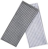 "Room Essentials Earth Gray Grid Kitchen Towel (16""X26"" , 2 Pk)"
