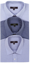 George 3 Pack Long Sleeve Shirts