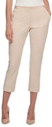 Tommy Hilfiger Stripe-Print Cropped Pants