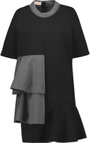 Marni Tiered neoprene mini dress