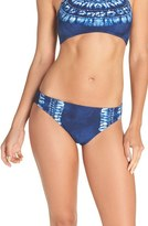 LaBlanca Women's La Blanca 'Moody Blues' Hipster Bikini Bottoms