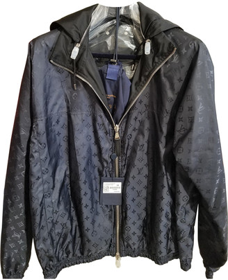 Louis Vuitton Blue Synthetic Jackets