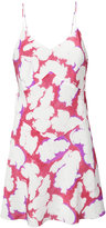 Lemaire printed slip dress - women - Silk - 38