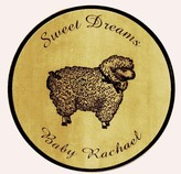 The Well Appointed House Sweet Dreams Baby Wall Plaque