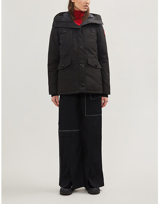 Canada Goose Rideau hooded shell-down jacket