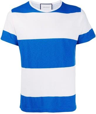 Gucci horizontal stripes T-shirt