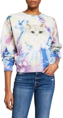 Paul & Joe Sister Brian Tie-Dye Graphic Sweatshirt