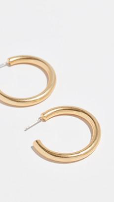 Madewell Medium Chunky Hoop Earrings