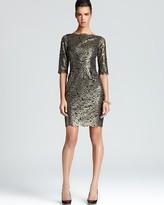 Lace Dress - Metallic Minka