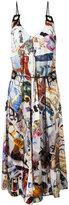 Christopher Kane archive print dress - women - Silk/glass - 40