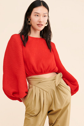 C/Meo Waves of Rouge Blouse