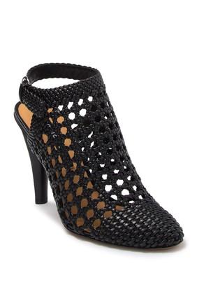 Veronica Beard Livia Basket Weave Closed Toe Sandal