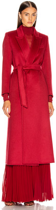 Max Mara Kriss Coat in Red | FWRD