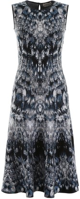 Alexander McQueen Archive Print Dress