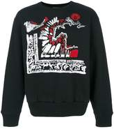 Versus Clan print sweater