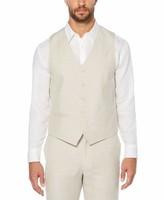 Cubavera Big & Tall Pinstitched Vest