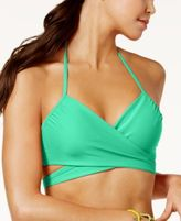 Sundazed Simone Bra-Sized Underwire Wrap Bikini Top, Only at Macy's