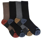 Timberland Men's 4 Pack Cotton Quarter Socks