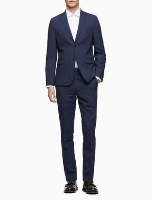 Calvin Klein Skinny Fit Pinstripe Suit Pants