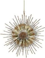 180 Degrees Snowflake Ornament, Gold