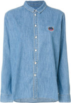 Kenzo Tiger crest shirt - women - Cotton - 36