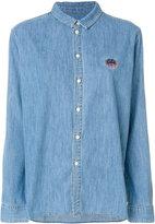 Kenzo Tiger crest shirt - women - Cotton - 38
