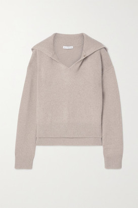REJINA PYO Tate Cashmere And Wool-blend Sweater - Sand