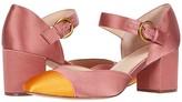 J.Crew Color-Block Mary Jane Sonia Pump (Raw Indigo) High Heels
