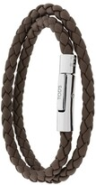 Tod's braided wrap bracelet