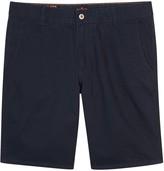 Dockers Navy Brushed Cotton Twill Shorts