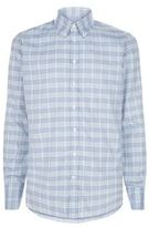 Turnbull & Asser Grid Checked Shirt