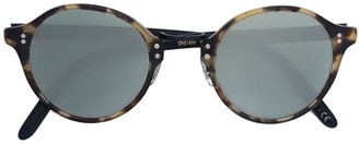 Oliver Peoples round tortoise shell glasses