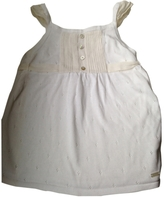 Christian Dior White Cotton Top