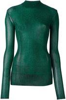 Golden Goose Deluxe Brand 'Robin' lurex jumper