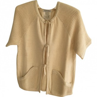 Christian Dior Beige Cotton Knitwear for Women Vintage