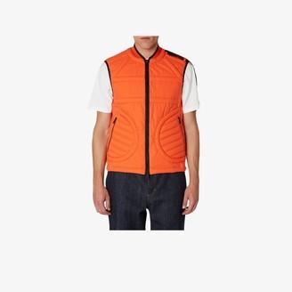 MONCLER GENIUS Mens Orange X Craig Green Huff Vest